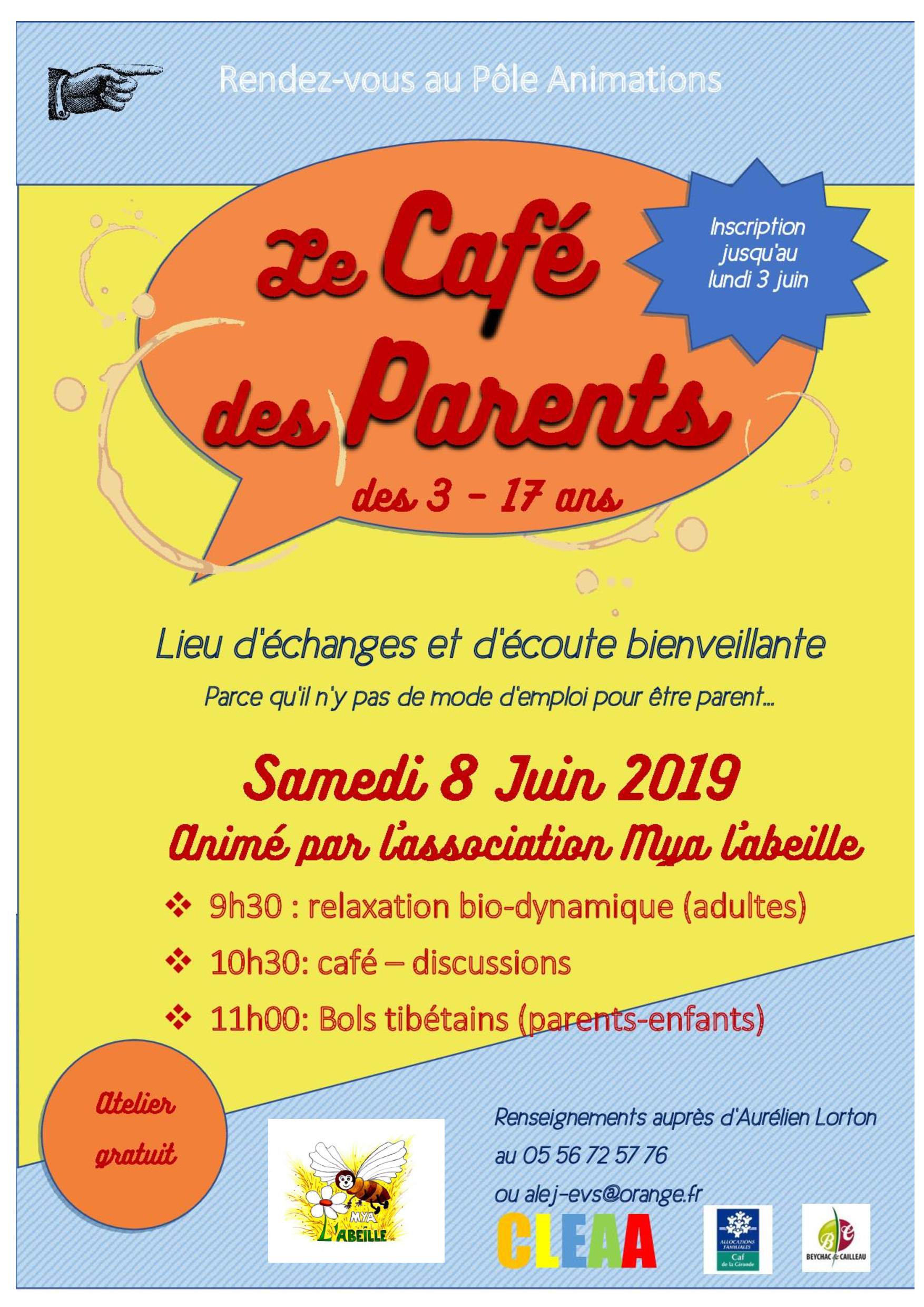 Le café des parents